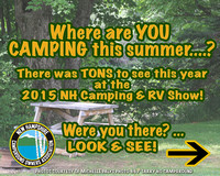 NH Camping & RV Show 2015 (use with photo credit or logo allowed) Sportsplex, Bedford NH